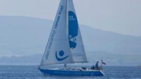 Trust yacht sailing in Largs, Scotland