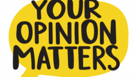 Your opinion matters logo