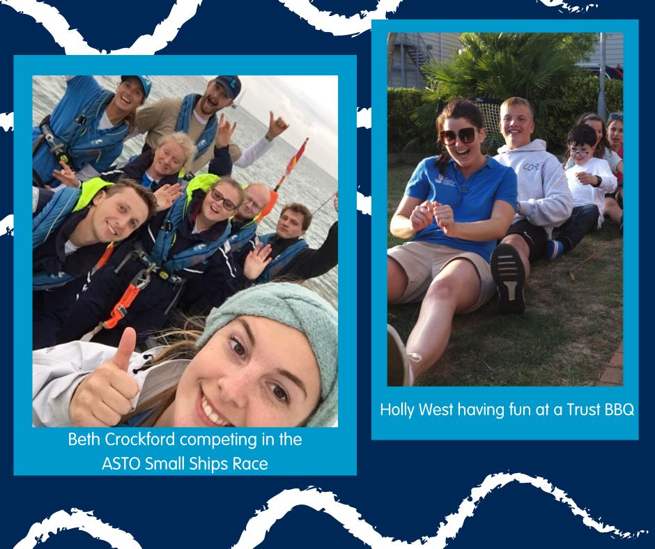Beth & Holly on Trust trips