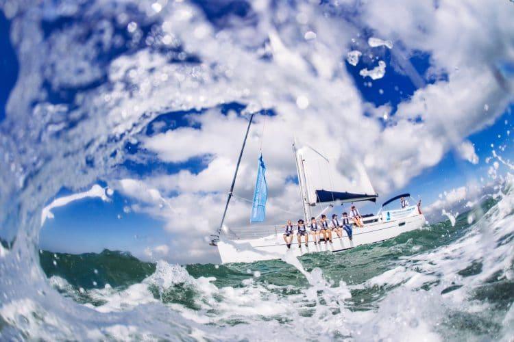 Ellen MacArthur yacht