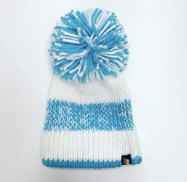 Blue   White Striped Bobble Hat - Ellen MacArthur Cancer Trust eefa38ec4f4d