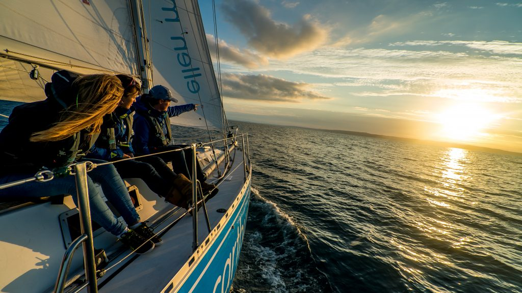 Ellen MacArthur Cancer Trust sunset