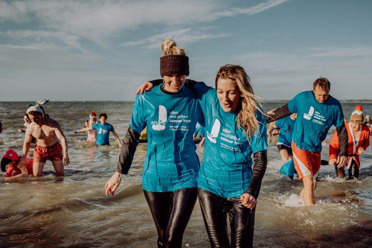 The Ellen MacArthur Cancer Trust Boxing Day Dip 2018