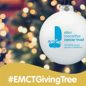 Support the Ellen MacArthur Cancer Trust Giving Tree this #GivingTuesday