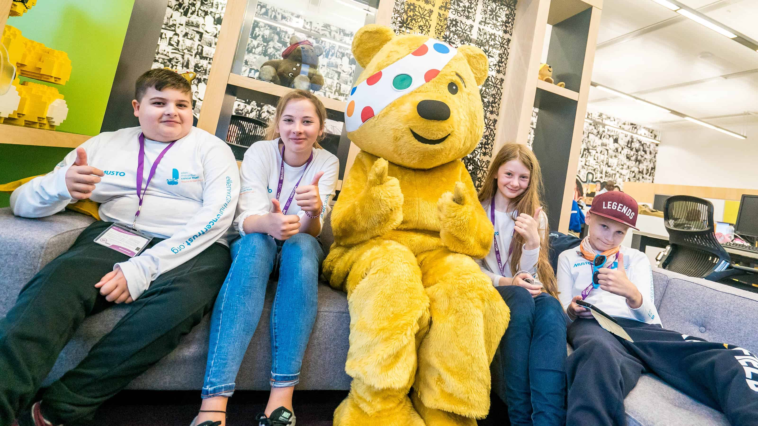 Tune in to watch Children in Need who have granted funding to support young people in recovery from cancer