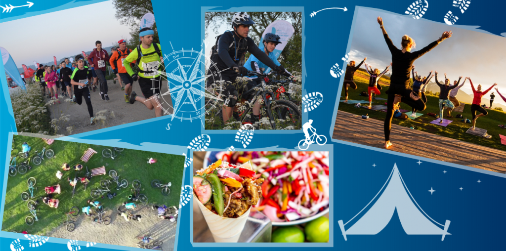 There is something for everyone at the Trail Festival whether you decide to run, ride or relax