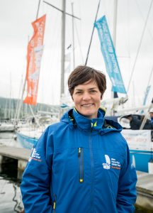 Picture of the iconic Ellen MacArthur who set up the Ellen MacArthur Cancer Trust
