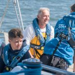 John Burton volunteering on a 2018 Ellen MacArthur Cancer Trust trip