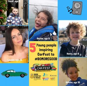 CarFest supports five Children's Charities