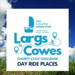 Get involved in the Largs to Cowes Charity Cycle Challenge