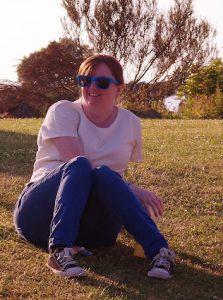 Hayley Skinner, Operations Co-ordinator North, enjoys the summer sunshine