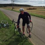 Robert Bailey Preparing to take on the Ellen MacArthur Cancer Trust Largs to Cowes Charity Cycle Challenge
