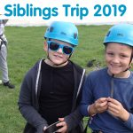 Picture taken from the Ellen MacArthur Cancer Trust Pilot Siblings Trip 2018