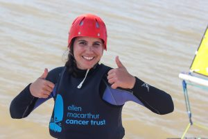 Thumbs up to the Ellen MacArthur Cancer Trust trip 2019 season