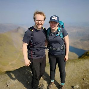 Dan and Meg are tackling the Great North Run in September