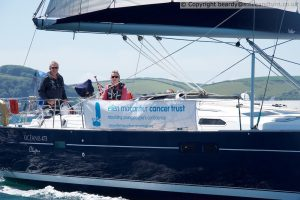 Simon Cook and crew take part in 2019 Eddystone Sailing Charity Pursuit