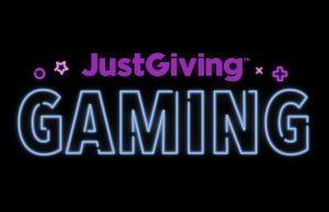 Just Giving Gaming logo