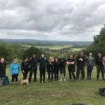 Teekay London team ready to take on a 80km hike across the South Downs