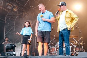 Sophie and Dan stole the show at CarFest North