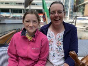 Vanessa Hutchinson (left) with her mum Lynnie (right)