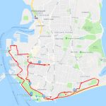 Great South Run route map