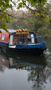 Red Watch CanalAbility boat