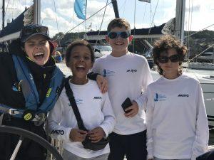 Blue Peter presenter Lindsay Russell joined Ellen MacArthur Cancer Trust trip