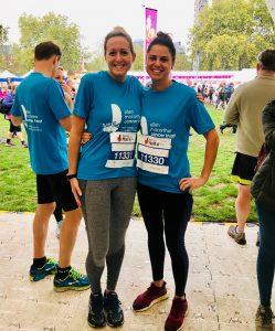 Laura Currie took on the Royal Parks Half the Ellen MacArthur Cancer Trust