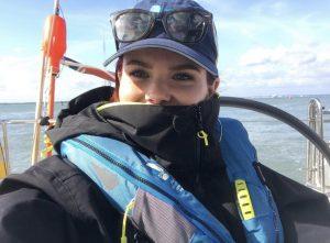 Lindsay Russel join Ellen MacArthur Cancer Trust trip