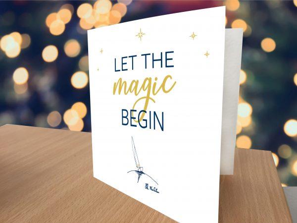 The Ellen MacArthur Cancer Trust Christmas card