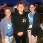 Lewis Capaldi wore an Ellen MacArthur Cancer Trust hoodie at Camp Bestival 2019
